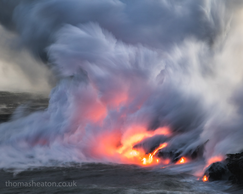 Expanding Lands | The noise of the volcano and it's power as… | Flickr