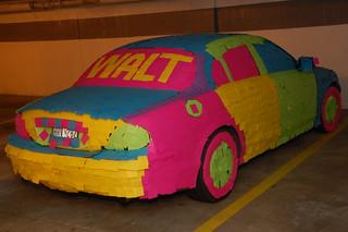 The Post-It Note Car (The Original Post-it Note Jaguar!). | by Scott Ableman