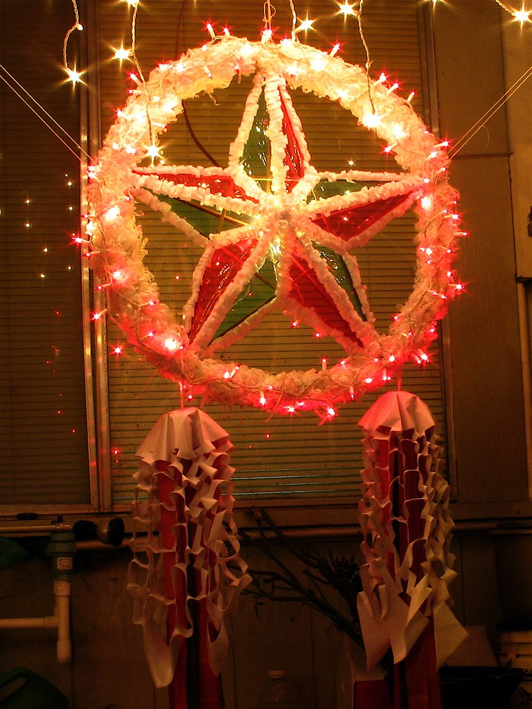 Merry Christmas In Tagalog.Our Filipino Christmas Parol Tatay Tagalog For Dad Made