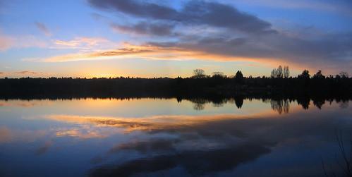 seattle sunset panorama 3 wow greenlake tonight silhuette dec06 myexplore top20seattle