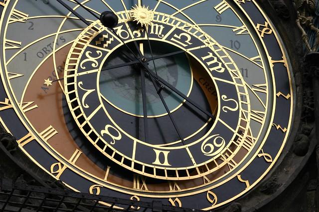 Astronomical Clock close up