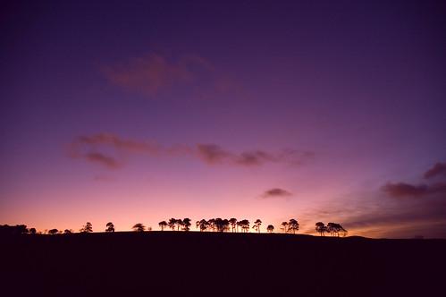sunrise d50 scotland nikon aberdeenshire balloch alford cairnballoch stronehill