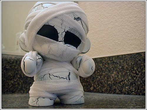 Mummy Munny #1 - with bandages | by kriegs