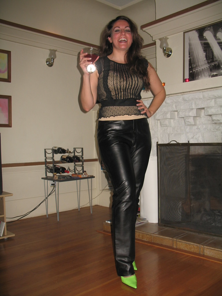 Flickr Leather Pants