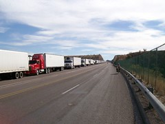 Trucks in line for USA