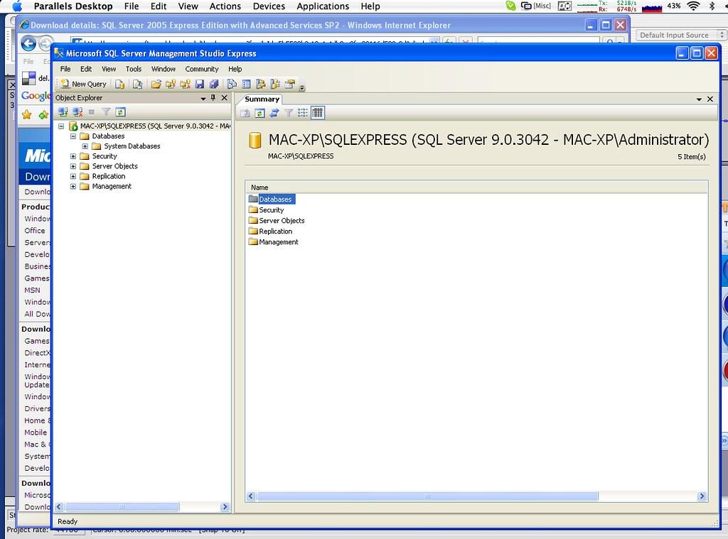 Microsoft sql server for mac