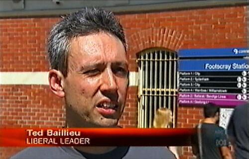 Daniel is actually Ted Ballieu