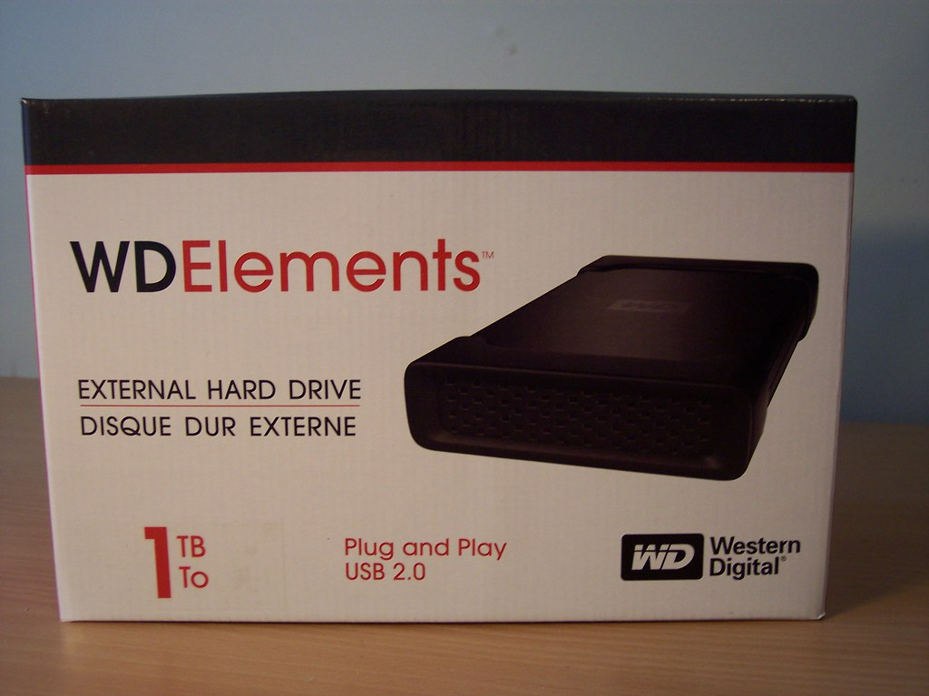 Western digital my book external hard drive