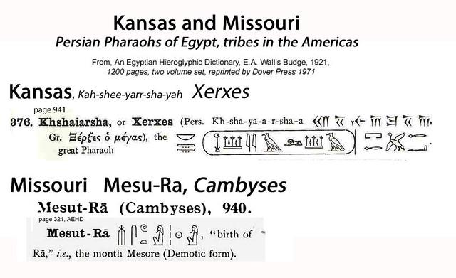 Kansas Kahshiarshaya Xerxes, Missouri 'Mesu Ra' Cambyses