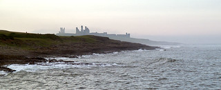 Dunstanburgh Castle in the mist | by johndal