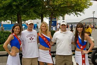 USGP 2007 - Mike & Kyle with Grid Girls   by ChrisMRichards