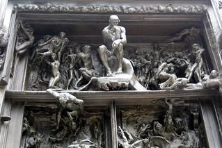Paris - Musée Rodin: La Porte de l'Enfer | by wallyg