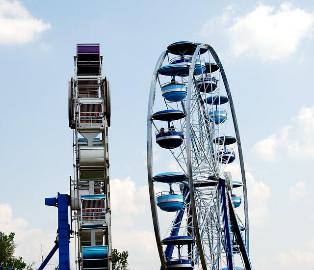 The Zipper and the Ferris Wheel