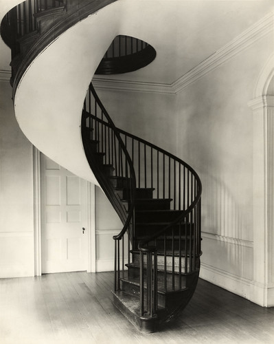 Frances Benjamin Johnston: Spiral staircase, Auburn, Natchez, Mississippi, 1938 | by trialsanderrors