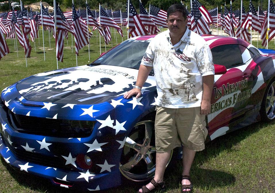 10 Jun 10 Tribute Car A 128 Photo By Sgt Caleb
