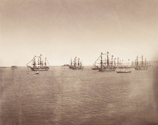 The English Fleet at Cherbourg | by The British Monarchy