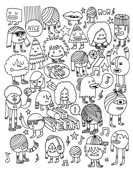 Unused Coloring Book Page Been Looking Through Some Old Wo Flickr