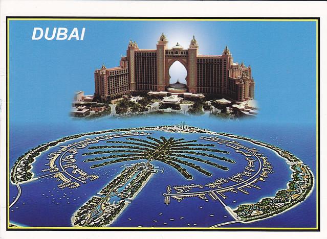 Dubai Multi-view Postcard
