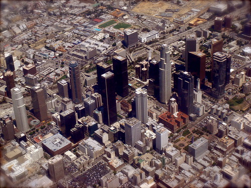 Aerial Photo of downtown Los Angeles California | by Duncan Rawlinson - Duncan.co