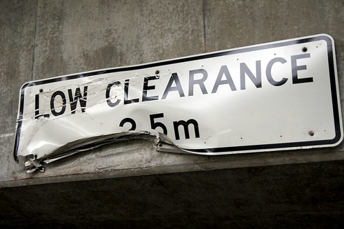 low clearance | by yewenyi