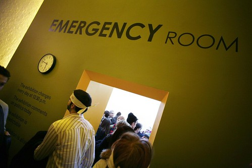 "ULTRACONTEMPORARY ART FORMAT:""Emergency Room "" at MOMA / PS1 