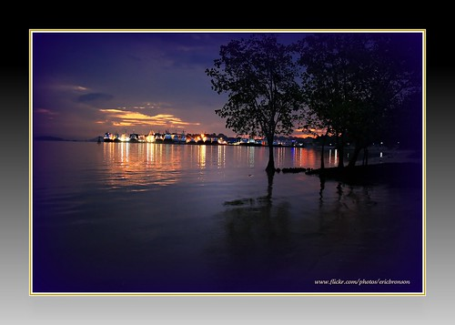 park beach nature sunrise canon twilight singapore moments pasir ris 40d