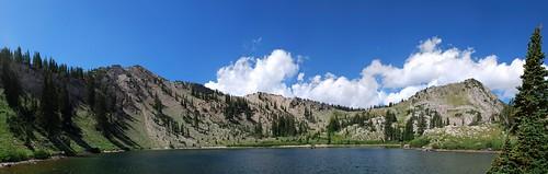 panorama lake utah brighton pano stitched yourfavorites hugin autopano 35mmf2d sunsetpeak perfectpanoramas d80 brightonlakes lakecathrine nexp