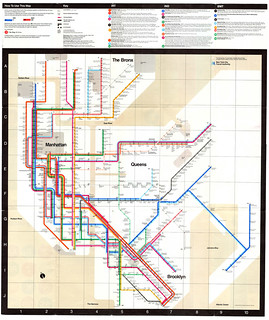1972 Subway Map / Massimo Vignelli | by Gaynoir_