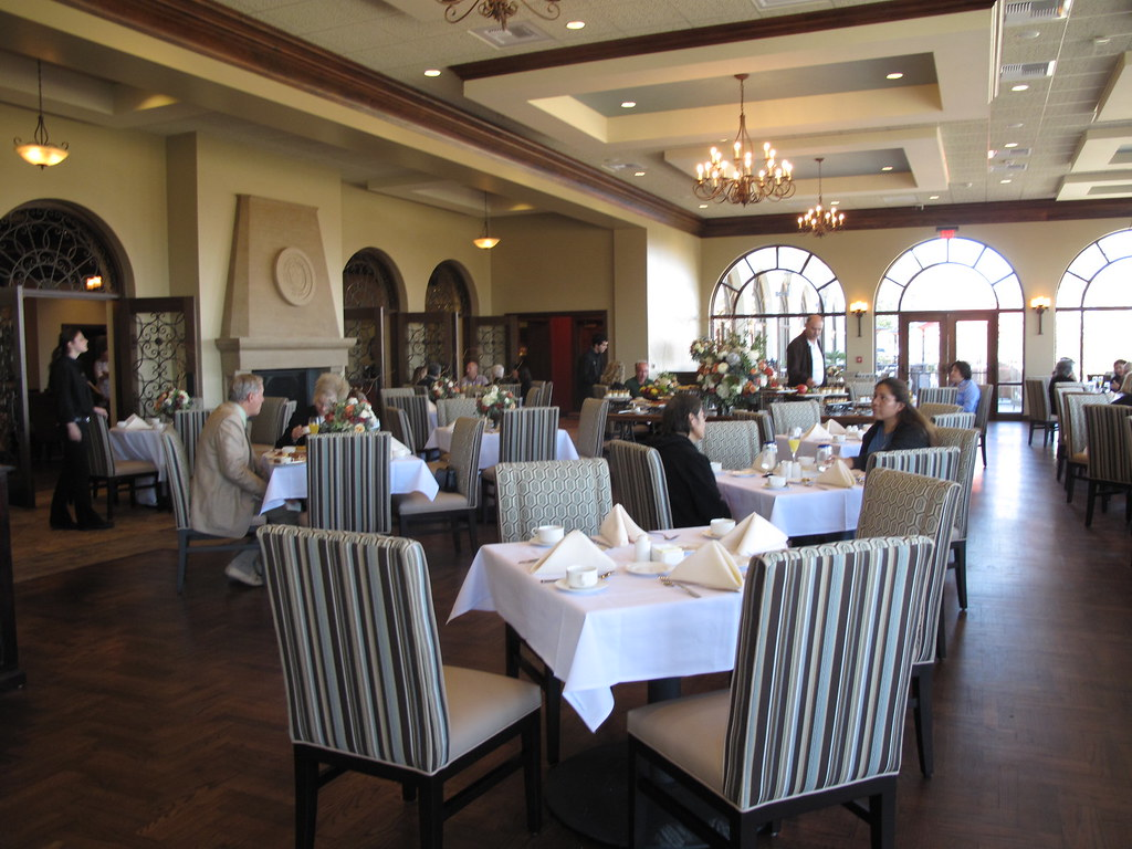 Grand Dining Room Of La Gran Terraza University Of San Die
