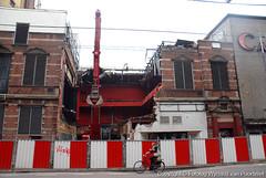 Demolition of an old theatre (Nieuwe de la Mar - Amsterdam)   by wwwYnand!