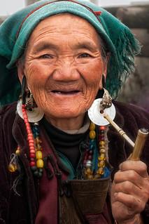 Old Tibetan Women (老西藏太太)   by `James Wheeler