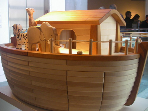 Noah's Ark Toy  Skirball Cultural Center Los Angeles | by Al_HikesAZ