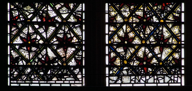 York Minster, wI, 1a-1b, foliage designs