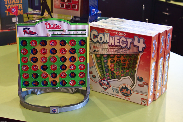 Baseball Rivals Connect Four