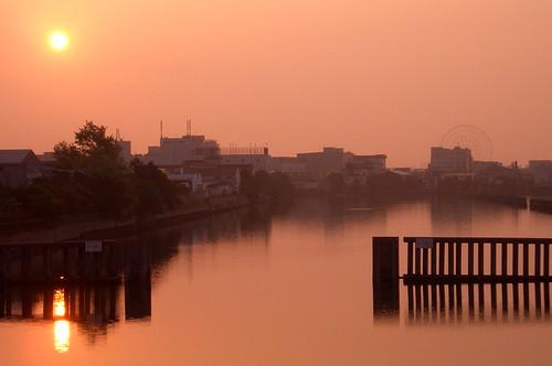 Sunrise after ageHa