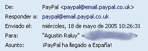 PayPal en España