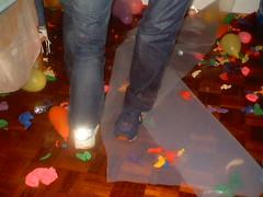 Pisar balões