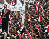 Al Jazeera Saddam rally