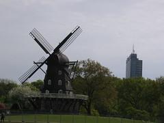 Molino y edificio en Malmö