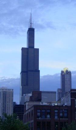 Sears Tower desde la terraza de Jesús
