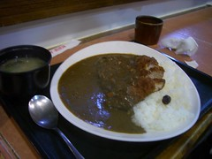 家竹亭 - 炸豬排咖哩