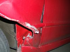 damage close up