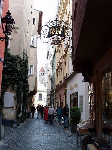 Regensburg Street... click for larger image