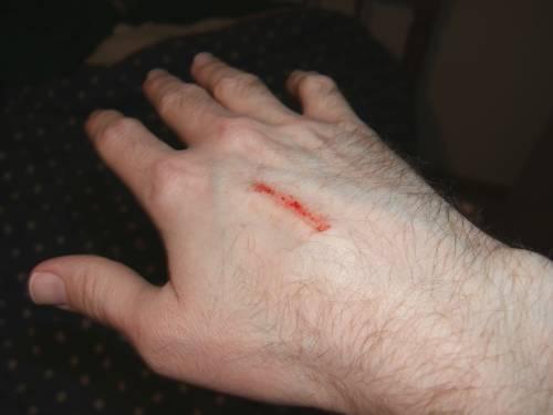 hand-scrape
