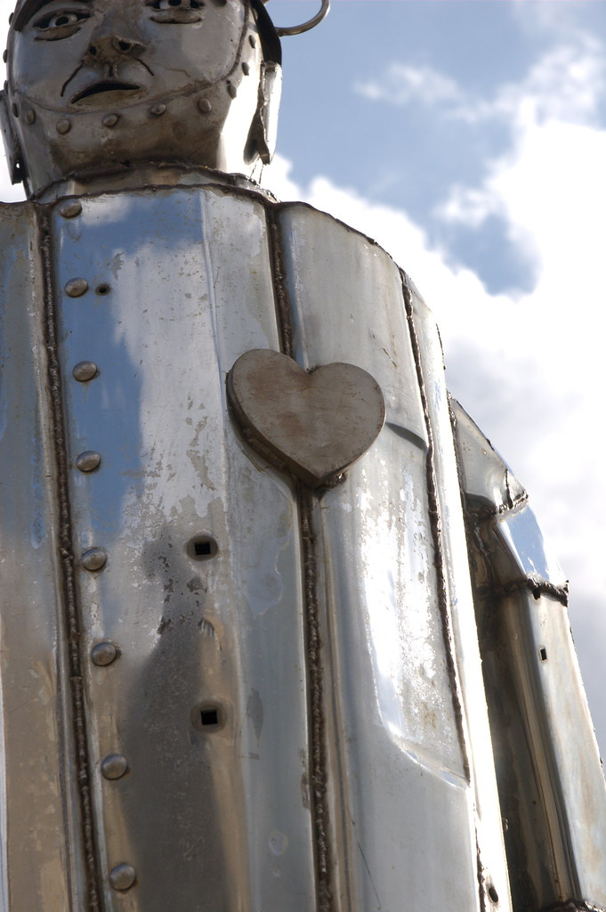 Tin Man | Of course, it wouldn't be an artsy shot if we didn… | Flickr