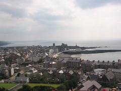 Aberystwyth o Ben-y-graig