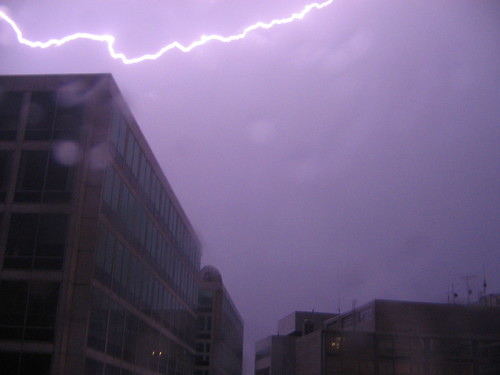 Lightning over DC