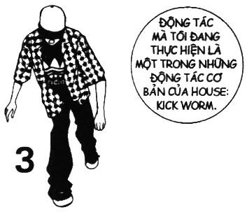 Vietnamese Break dance comic