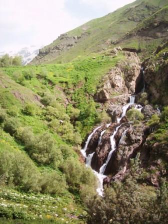 آبشارروستای میچ