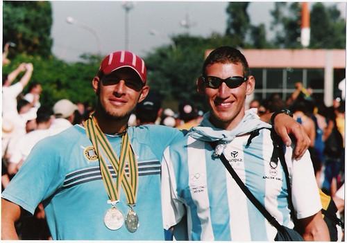 Rodrigo Ruiz y Ariel Suarez